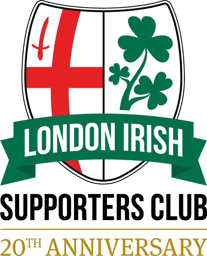 London Irish Supporters Club - 20th Anniversay