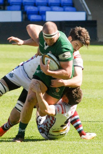 London Irish v Rotherham Titans  Ollie Hoskins.