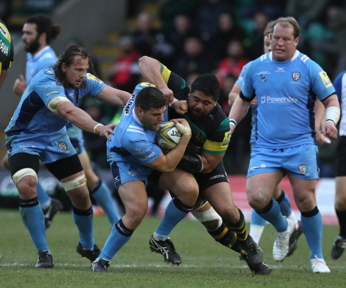 Northampton+Saints+v+London+Irish+Aviva+Premiership+arlA-J4ceTkx